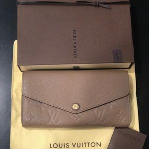 Louis Vuitton Bags - Louis Vuitton Sarah flap Wallet AUTHENTIC
